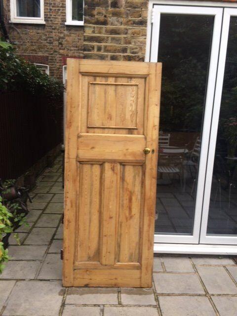 Original Edwardian internal door