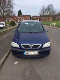 Vauxhall Zafira 1.6 petrol - 7 seater