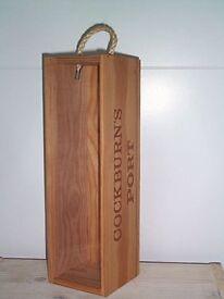 Cockburn's Port Wooden Presentation Case
