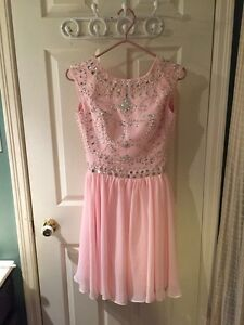 Pink & Blue Grad Dresses for sale
