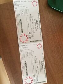 Goldfrapp FACE VALUE Roundhouse London - MON 27 MAR - 2 x standing