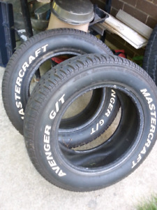 Mastercraft G/T pair of tires in great condition