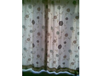 LARGE CURTAINS LINED - PRICE REDUCTION