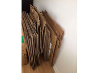Collection of cartons, boxes for packaging/moving