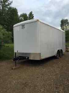 2013 Continental Cargo 8x18 Enclosed Trailer with Ramp