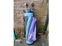 set golf clubs