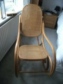 ROCKING CHAIR - Wooden Nursing Rocking Chair in resonable condition