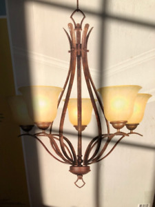 New in box, never used chandelier