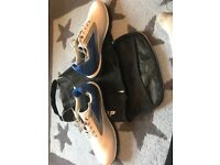 Dunlop Golf Shoes Size 6 and Matching Bag