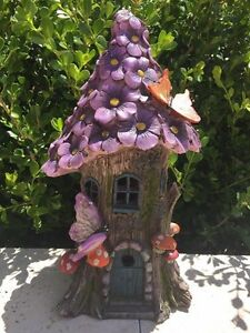 Solar Powered Fairy House 30cm Barden Ridge Sutherland Area Preview