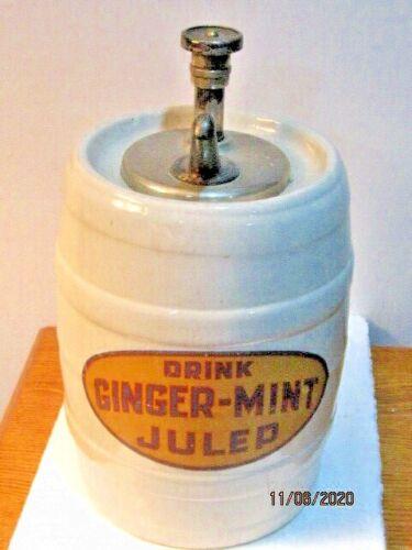 GINGER -MINT JULEP SYRUP DISPENSER