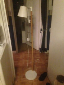 Tall Standing Light with switch and swivel head