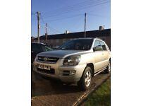 kia sportage AUTOMATIC, 2008, 2.0 diesel, new MOT