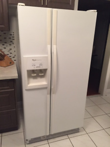 Whirlpool Imperial Series Side-by-Side Fridge