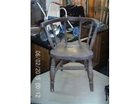 Antique Childrens Chair