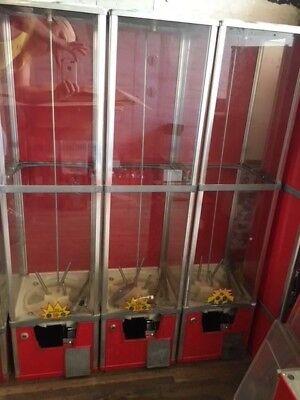 Rare Northwestern 2 Capsule Toy Tall Mall Vending Machine 2 Inch Vendor Aa