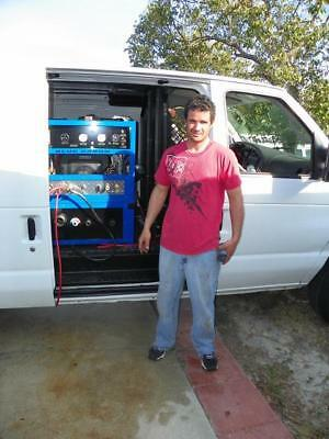 Blue Baron 33 Se Truck Mount Tile Carpet Cleaning Machine