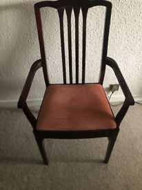 Stag Minstrel Dining Table and 6 Chairs