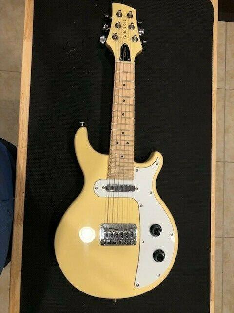 GOLD TONE 6-String Solid Body Mandolin MANDO-GUITAR MANDITAR with Gig Bag GME-6