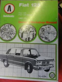 FIAT 125 WORKSHOP SERVICE MANUAL c1967-73 Dianella Stirling Area Preview