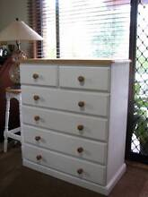 Large White Chest of Drawers / Tallboy ~ Excellent Condition Varsity Lakes Gold Coast South Preview