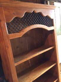 Sale : Indian Teak Solid Wood Bookcase / Display