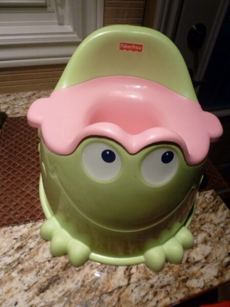 Fisher Price Frog Potty Chair