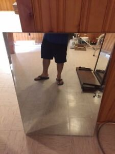 Large glass mirror for sale by owner!