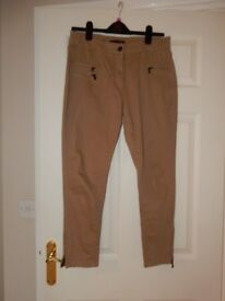 Size 12S Ladies Fitted M&S Trousers