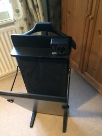 Corby Classic trouser press with integrated Jacket Hanger