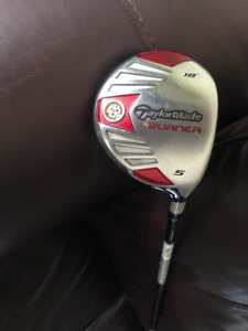 OB.O.Calloway Big Bertha Diablo 3D wood/Taylormade Burner 5 Wood