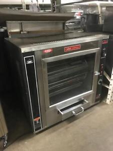 Rotisserie GBC electric, 6 to 9 chicken and electric Savory Rotisserie 18 to 24 chicken