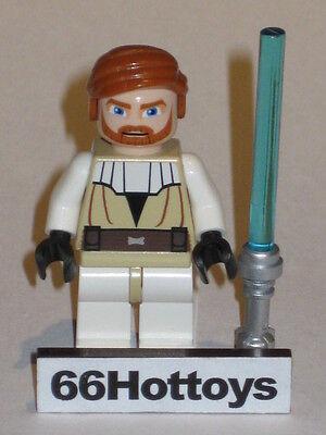 LEGO STAR WARS 7676 Obi-wan kenobi Minifigure New
