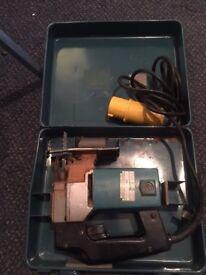 Makita 110 volt Jjigsaw with box