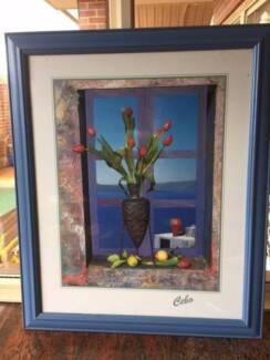 Cebo art and frame