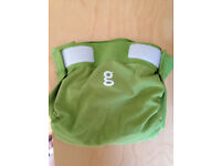 Washable nappies - Gnappies - green - medium - very good condition