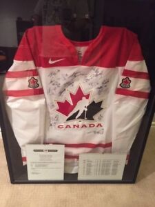 Team Canada Autographed Jersey