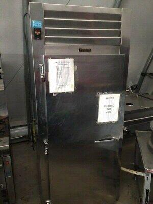 Traulsen Freezer Single Door Great Condition Roll In Style -pan Rack Included