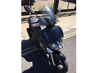 2008 Gilera Runner VX 125 Touring Edition in Black great condition