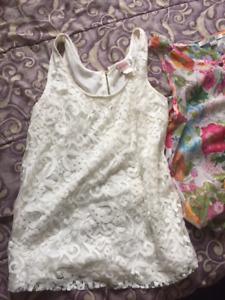 summer sleeveless blouse