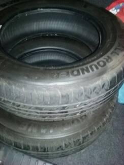 Car tyres 15 inch x 2