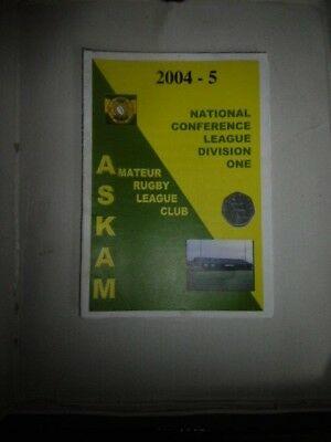 Askam v Castleford Panthers 2004 National Conference League @ Fallowfield Park
