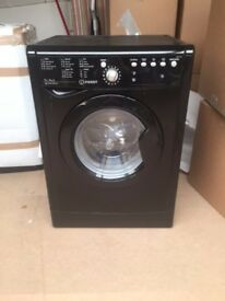 Indesit washer and dryer - Black