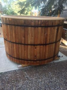 Fire Water Wood Burning Hot Tub