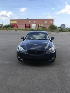2006 lexus is 250 awd , certified , lather seats , non accident