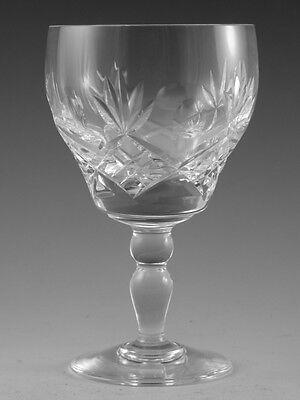 """Royal BRIERLEY Crystal - ELIZABETH Cut - Wine Glass / Glasses - 5"""" (1st)"""