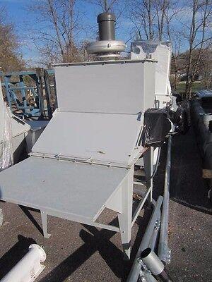 Apec Powder Material Bag Dump Unloading Station With Vibrating Pads