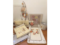 """Lovely nursery room set from Mamas & Papas, theme """"Murphy and Me"""", vgc"""
