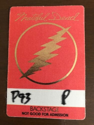 Grateful Dead - backstage pass Philly - might be 1993