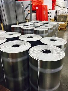 Insulation(Foil Back )From 11/16'' To 3'' Thick ! Factory Direct
